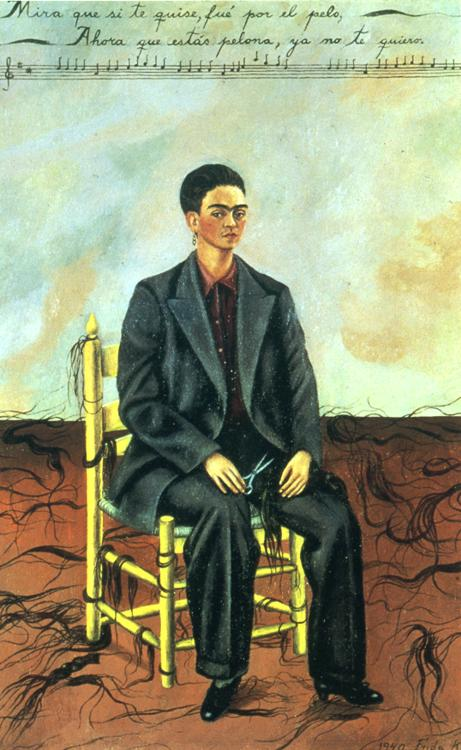Cropped Hair Kahlo